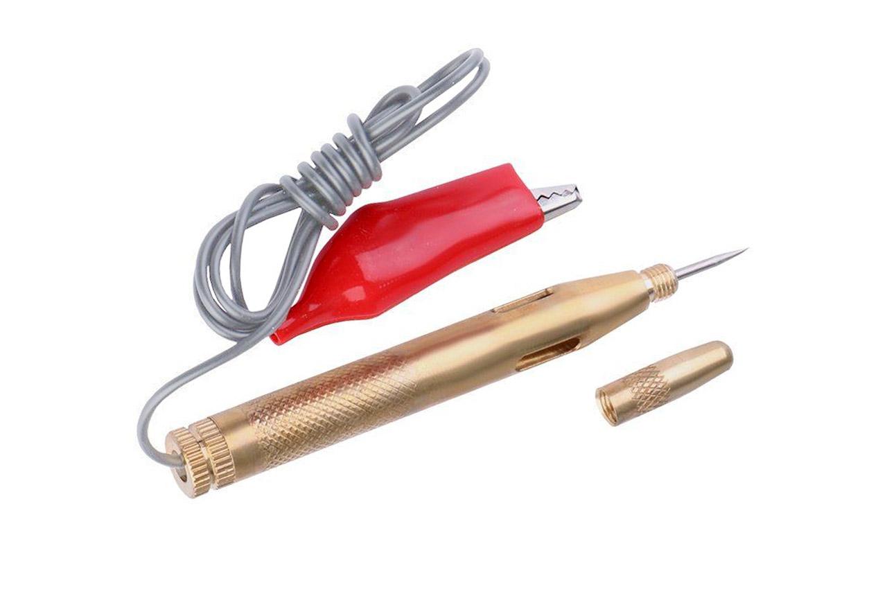 Tester próbnik napięcia 6-24V, metalowy, igła