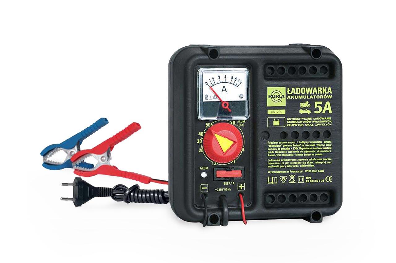 Nabíjačka auto/moto batérií Kukla BK 5 Automatik 5A