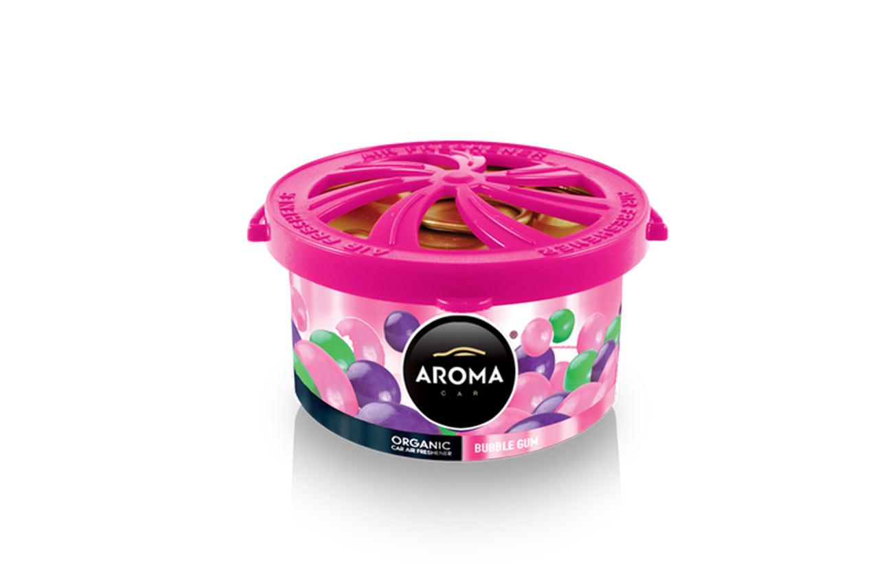 Osviežovače vzduchu AROMA ORGANIC Bubble gum