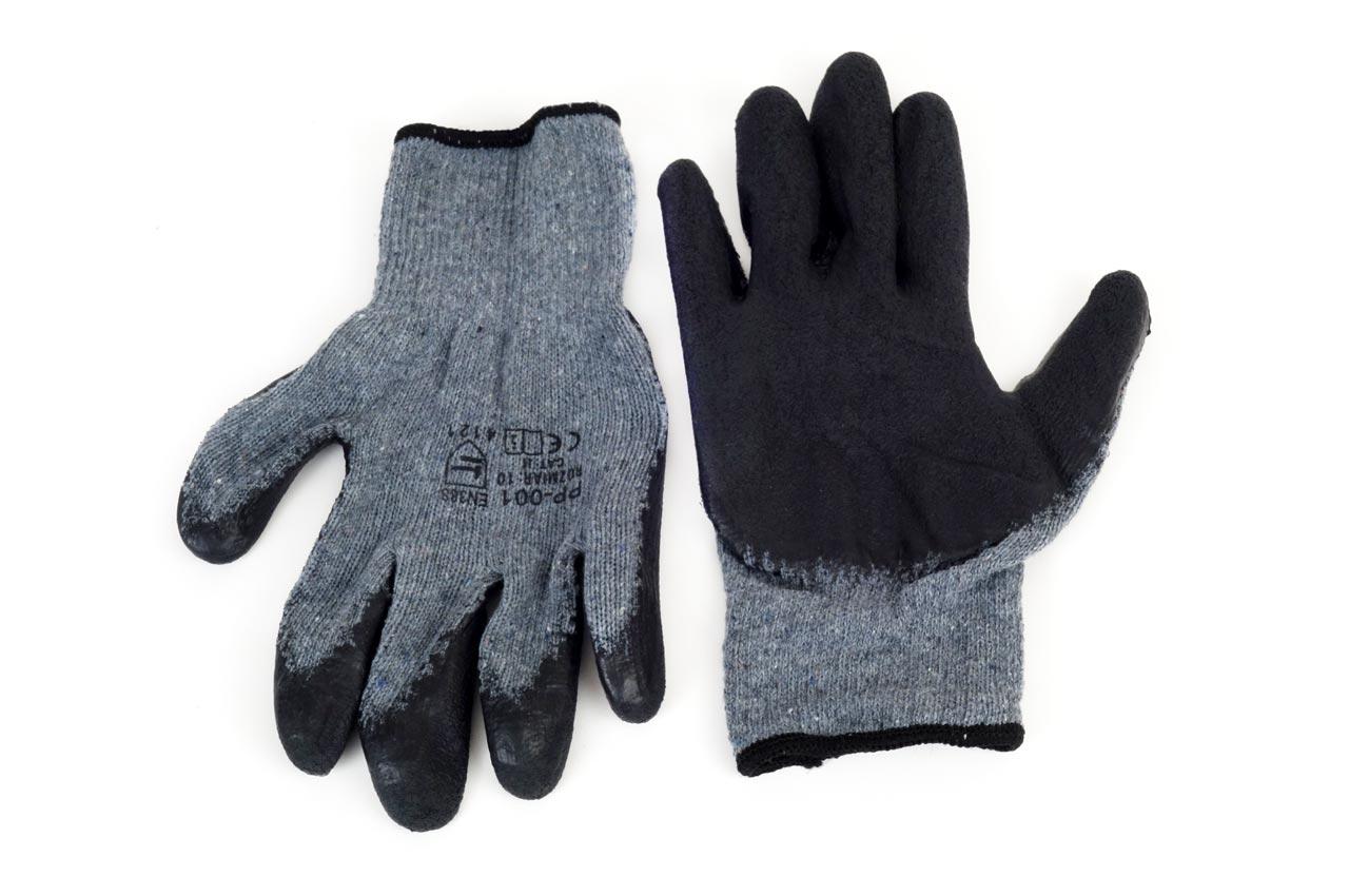 Pracovné rukavice RSD gumované