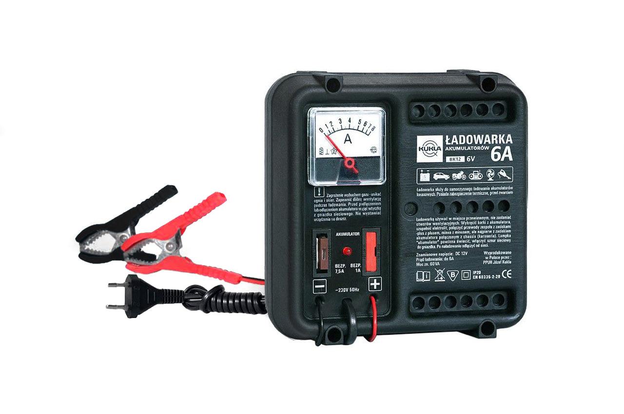 Nabíjačka auto/moto batérií BK 12/5 Hodiny 6A