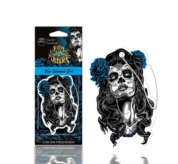 Osviežovač vzduchu AROMA DIA DE LOS MUERTOS Blue Diamond Girl