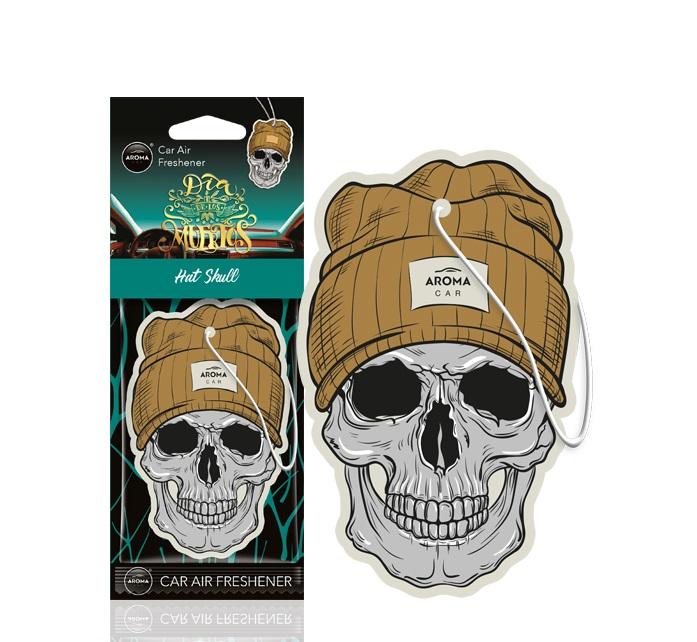 Osviežovač vzduchu AROMA CAR MUERTOS Hat Skull