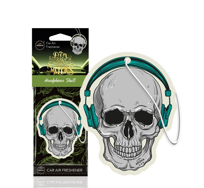 Osviežovač vzduchu AROMA CAR MUERTOS Headphones Skull