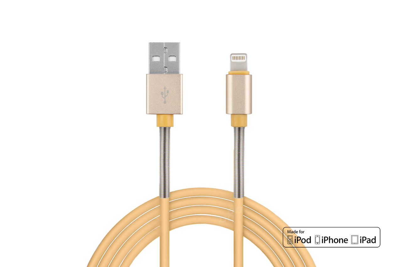 Kábel USB Lightning iPhone iPad FullLINK 2,4A