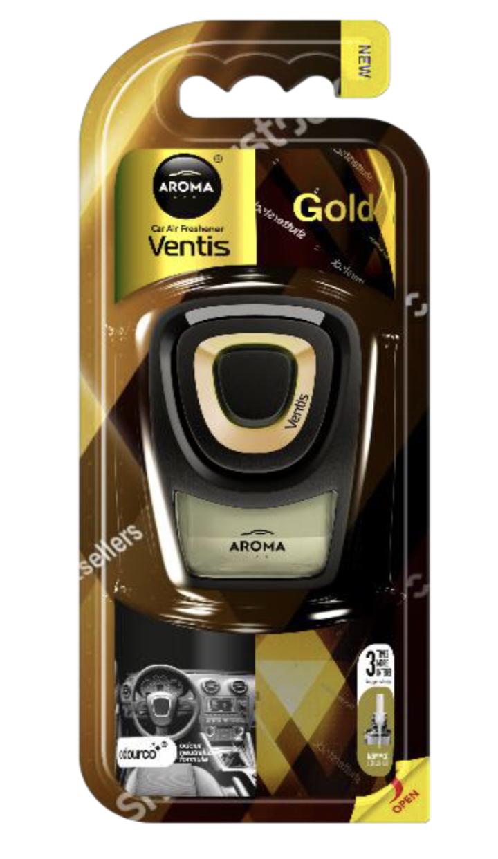 Osviežovače vzduchu AROMA VENTIS GOLD