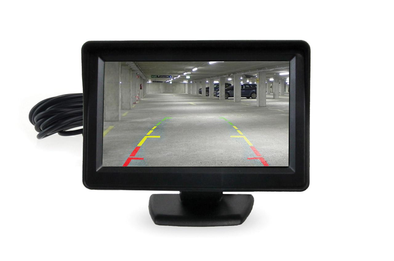"""Displej TFT 4,3 """" pre parkovacie senzory s kamerou"""