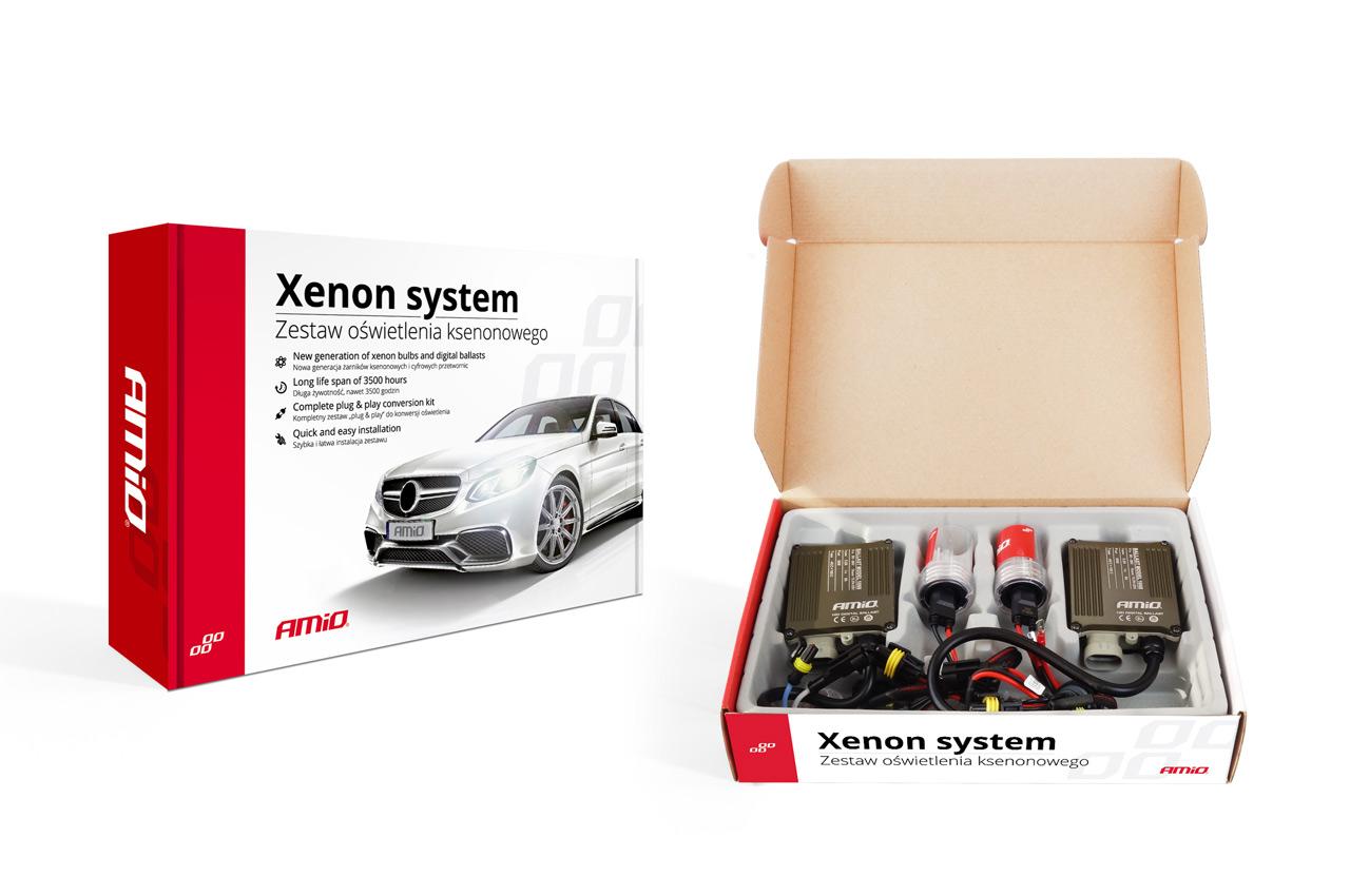 Sada xenonova  S1068 CANBUS H3 4300K