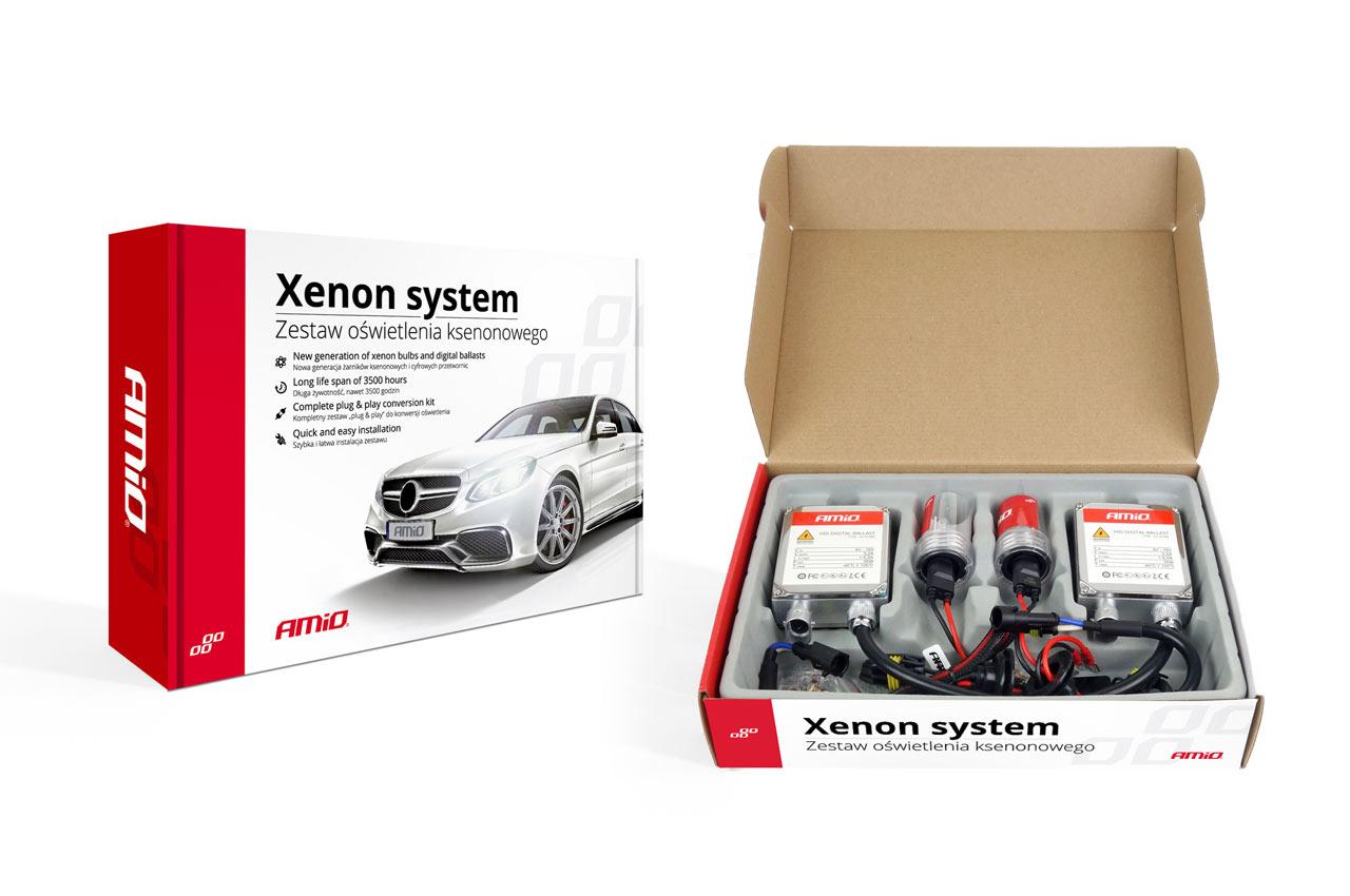 Sada xenonova 1103 HB1-3 9004-3 HB5-3 9007-3 6000K