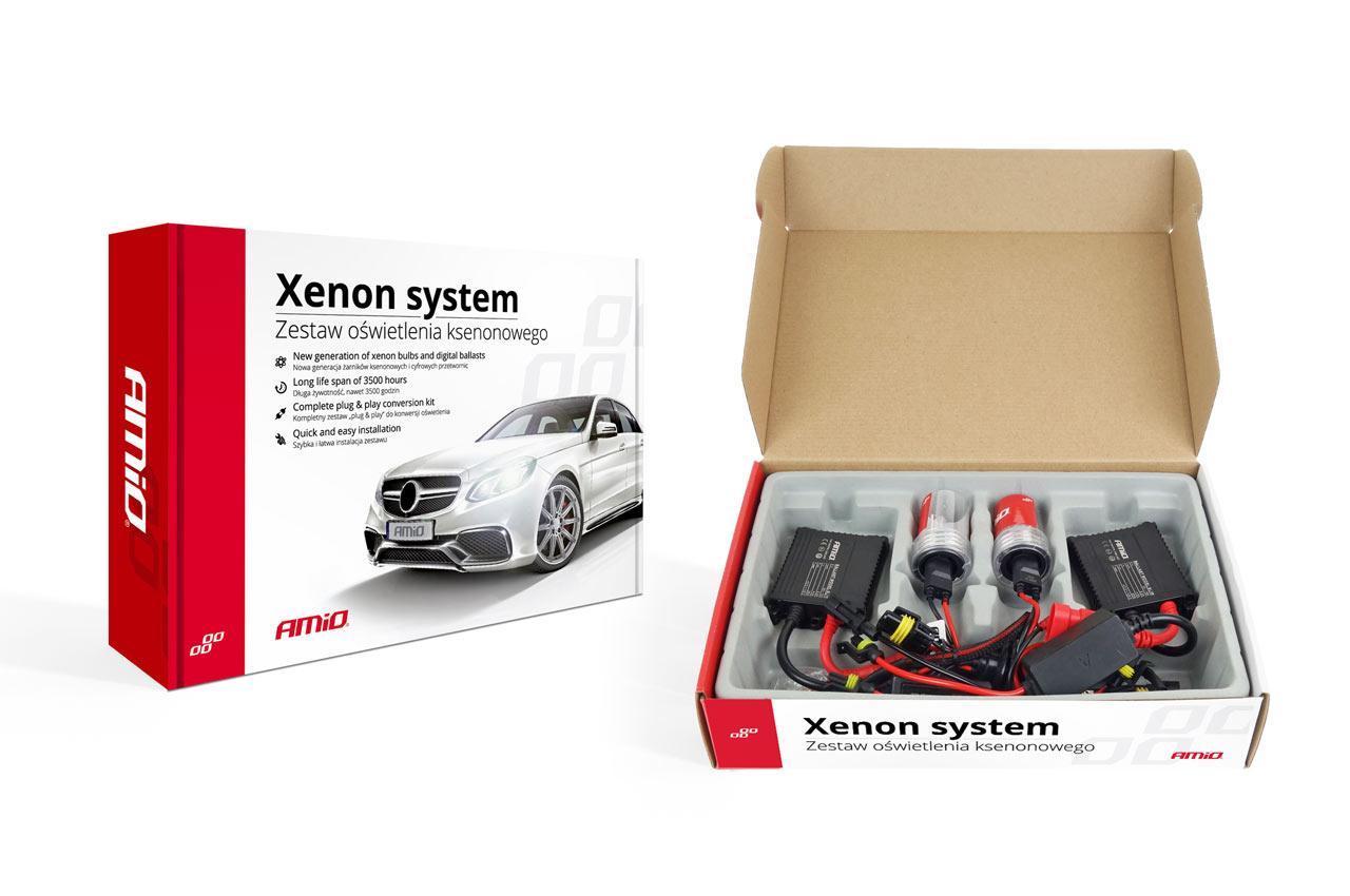 Sada xenonova SLIM HB1 9004 HB5 9007 4300K