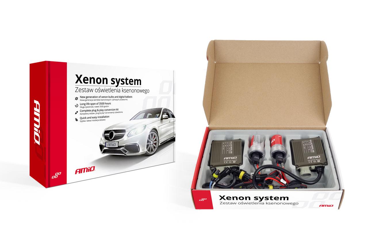 Sada xenonova 1068 CANBUS HB1 9004 HB5 9007 6000K