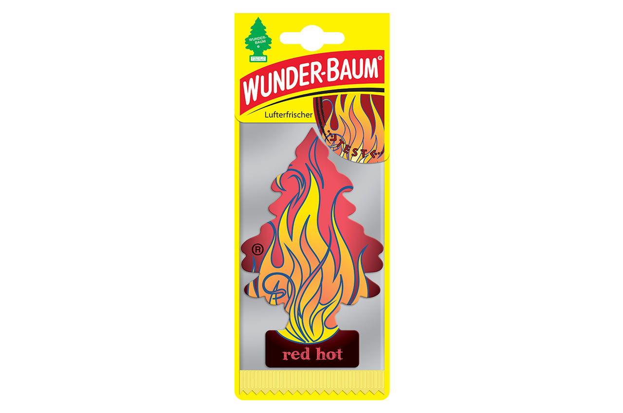 Osviežovač vzduchu Wunder Baum - Red Hot