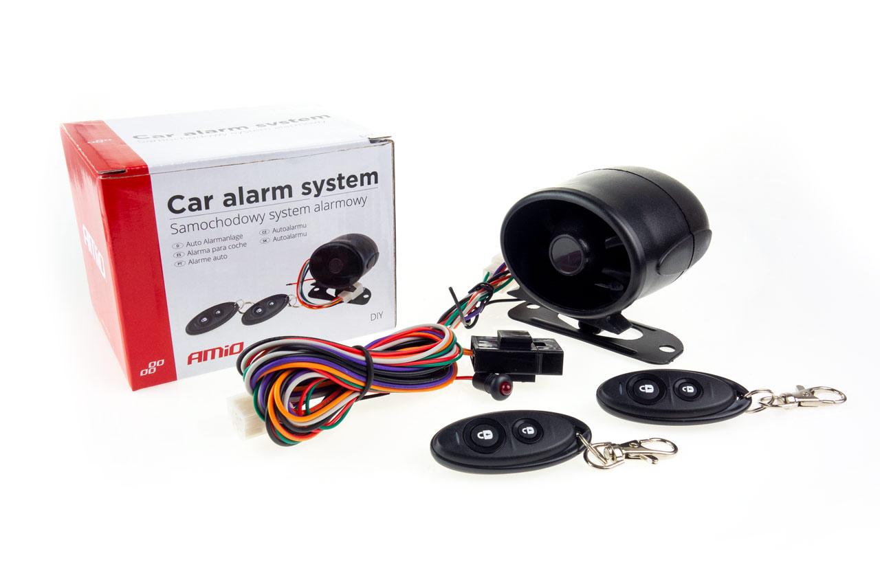 Autoalarm s diaľkovými ovládačmi