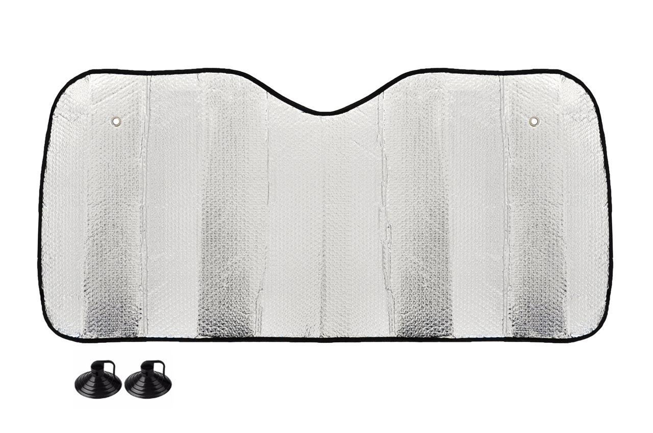 Clona protislnečná strieborná - 145x70 cm